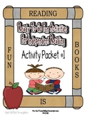Independent Reading Activities Set #1