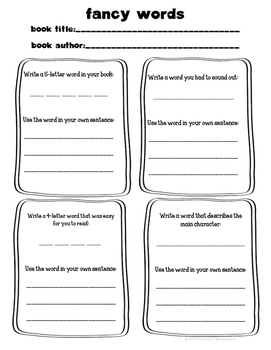 Independent Reading Activities for Fiction and Non-Fiction