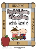 Independent Reading Activities Set #3