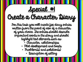 Independent Reading Book Reports with Student-Friendly Rubrics