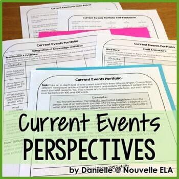 Multiple Perspectives - Current Events Portfolio - Emergency Plan