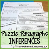 Making Inferences Reading Activity - Emergency Plan