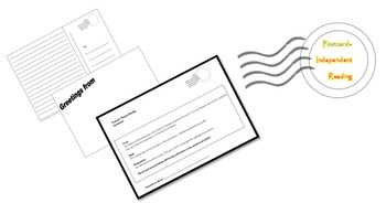 Independent Reading Activity - Writing a Postcard