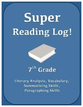 Literary Response Reading Log
