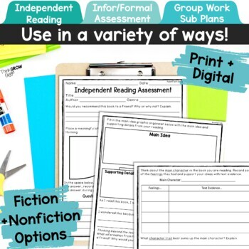 Independent Reading Assessment