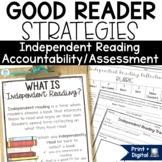 Independent Reading Work Assessment | Reader Response Activities