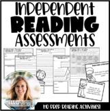 Independent Reading Assessments for Upper Grader Readers #halfoffdigital