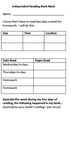 Independent Reading Assessments