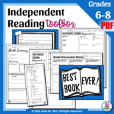 Independent Reading Accountability & Activity for Any Novel—Now Editable!