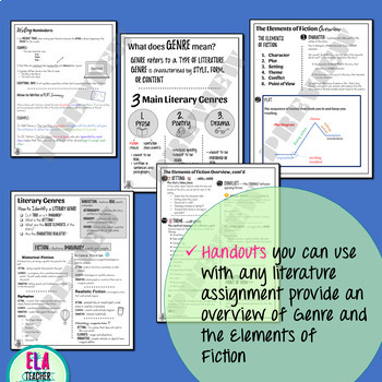 Independent Reading Accountability Activity for Middle School