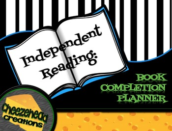 Year Round Independent Reading: Book Completion Planner