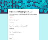 Independent Reading Book Log