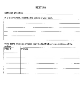 Independent Reading Book Project