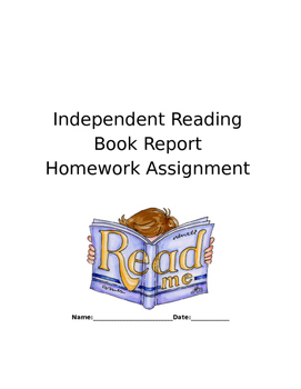 Independent Reading Book Report