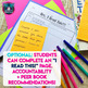 Independent Reading Printable Book Spines and Reading Tracker for Accountability