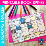Independent Reading Printable Book Spines and Reading Trac