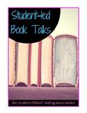 Independent Reading Book Talk Materials