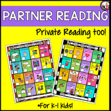 Personal Reading! Buddy Reading! Menus & Evaluations! K-1