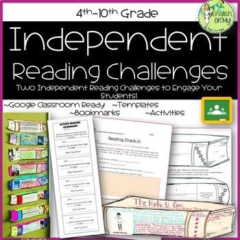 Independent Reading {Challenges & Activities}