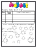 Independent Reading Check In Sheets for the Full Year