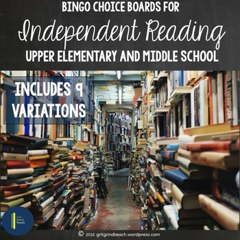 Independent Reading: Choice Boards