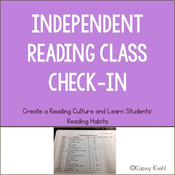 Independent Reading Class Check-In
