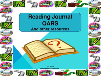 Reading Journal: QARS Journal, Stories, Chart