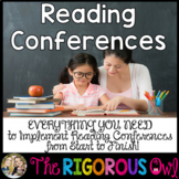 Independent Reading Conferences