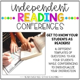 Independent Reading Conferences {Templates to Differentiat