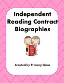 Independent Reading Contract: Biographies