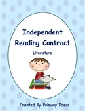 Independent Reading Contract: Literature