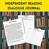 Independent Reading Dialogue Journal