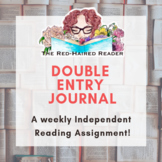 Independent Reading Double Entry Journal