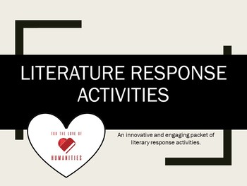 Independent Reading Extension Activities