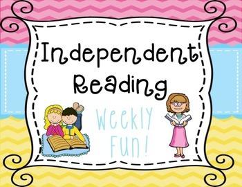 Independent Reading FREEBIE