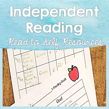 Independent Reading Resources - Read to Self Set Up