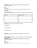 Independent Reading Form