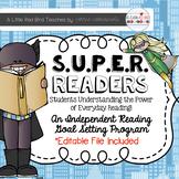 Independent Reading Goal Setting Program (Super Readers)