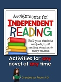 Independent Reading: Goal Setting and Assignments