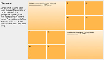 Independent Reading Accountability Google Slides Activities