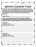 Independent Reading: Identify Character Traits