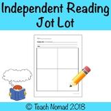Independent Reading Jot Lot