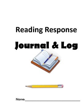 Independent Reading Journal Cover Pages