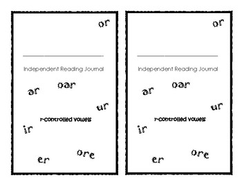 Independent Reading Journal: R-Controlled Vowels