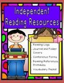 Independent Reading Journal and Folder Printables