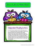 Ready to Use Independent Reading Letters to Teacher