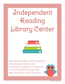 Independent Reading Library Center