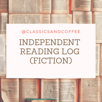 Independent Reading Log- Fiction