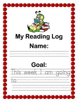 Independent Reading Log Sample