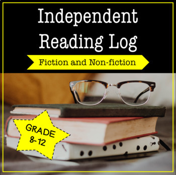 Independent Reading Log and Report For Fiction and Nonfiction Books